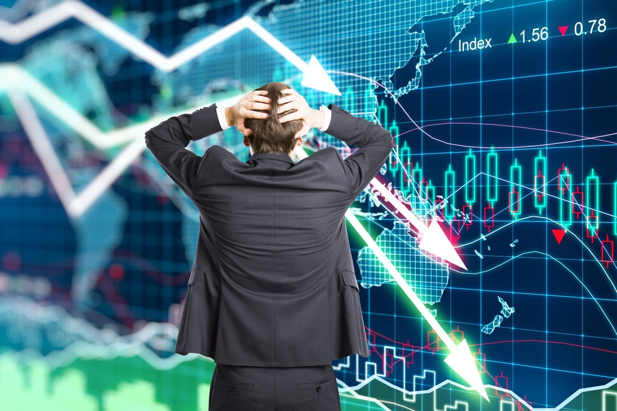 Share market, corona pandemic