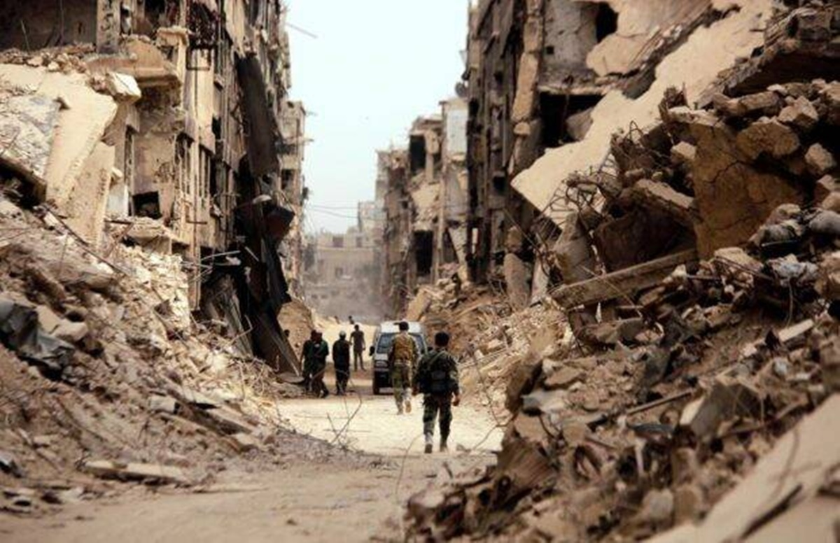 Arab Nations, Syrian war